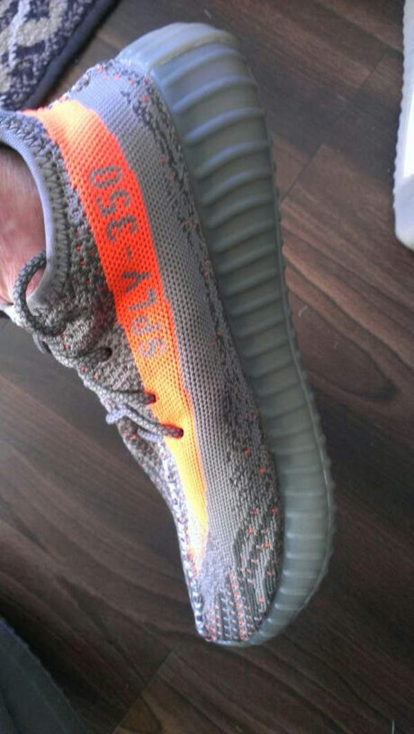 Pair of Adidas Yeezy's running shoes