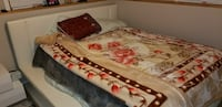 white, brown, green, and pink floral comforter set Boston, 02128