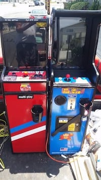 coin operated arcade machines LAWNDALE