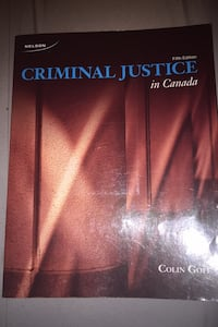 Criminal justice in Canada Mississauga, L5N 2S9