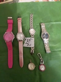 six assorted-color analog watches Hagerstown, 21740