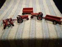 Ertl diecast tractors and implements, would trade Big Beaver