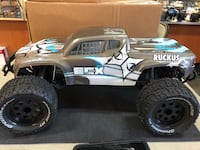 New 1/10 rc monster truck ecx ruckus silver brushless rtr in store only Haines City, 33844