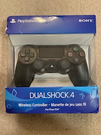 Black ps4 controller new