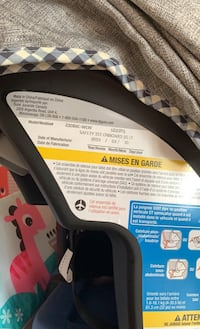 Safety first car seat for infants