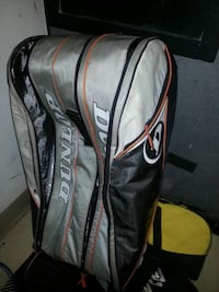 Large Dunlop bag ( for raquets, other gear)