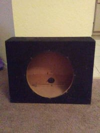 12 in speaker box