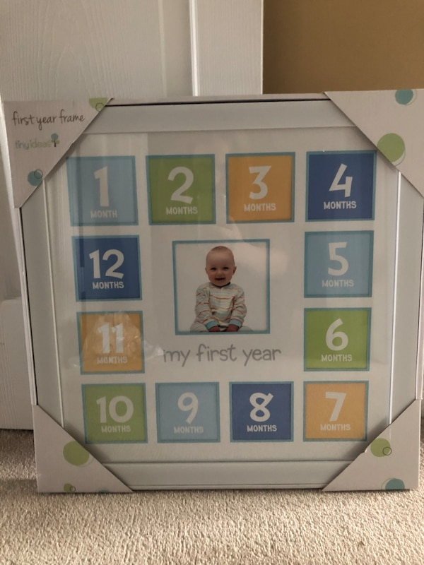 My first years baby picture frame