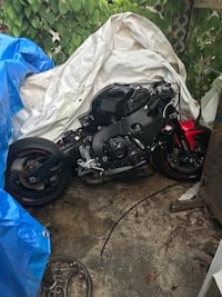 black and gray Honda motorcycle Mary Esther, 32569