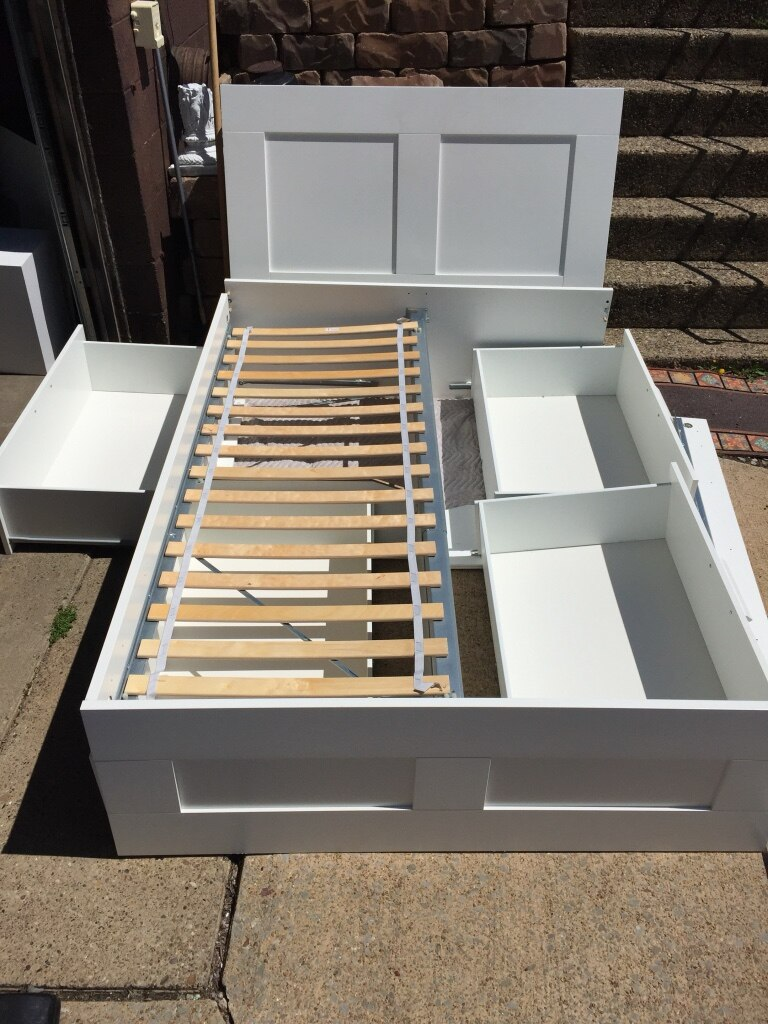 letgo ikea full bed frame with stora in monroeville pa