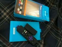 black Amazon Fire TV stick with box Los Angeles, 90019