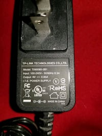 TP-Link Router/modem Power Supply.