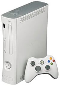 Premium xbox 360 console with controller