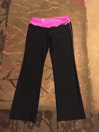 black and pink track pants Aerie fit  Maryville, 37801