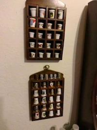 46 collectible thimbles from around the world  Glendale, 85304