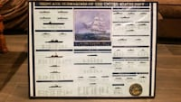 Navy poster of all classes of ships and subs San Diego, 92154