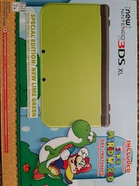 BRAND NEW NINTENDO 3DS XL WITH SUPER MARIO WORLD