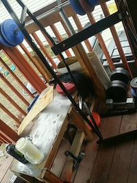 Weight bench made of wood Spokane, 99202