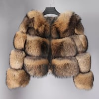 Real Raccoon Fur Bomber Vaughan, L6A 0B4