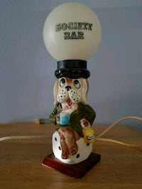 Vintage Bar Dog Lamp  Mississauga, L4W 2B7
