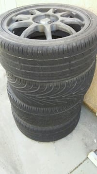 1996 Honda Civic Rims and Tires Palmdale