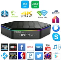 T95Z PLUS ANDROID TV BOX 3GB 8855 km