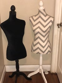 Two mannequins in used condition. Asking $10 each or $20 for the pair.  Manteca, 95337