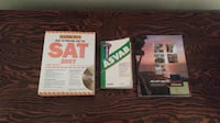 Barron's SAT / ASVAB Study Guides And Military Careers Guide (Just $1 Each) Carlisle