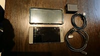 black Android smartphone with charger Mississauga, L5B
