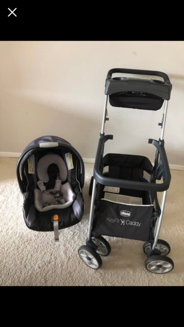 Chico key fit car seat and stroller