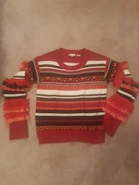 Brand new Gilli fringed sweater  Edmonton, T5Y 2P2