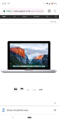 "sweet deal! 13"" Apple Macbook Pro intel core i5 re Toronto, M1C 1C5"