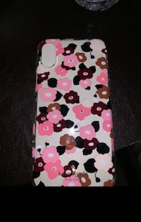 White, black, and pink polka dot iphone case Arlington, 22204