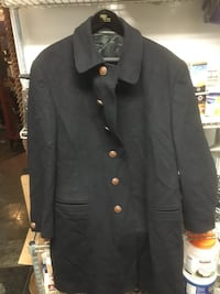 Istante Versace men's wool coat