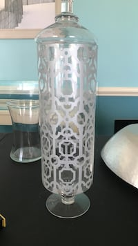 Decorative Apothecary Vase Glass