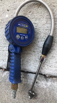 Blue point tire gauge