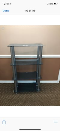 two gray wooden side tables Atlanta, 30334