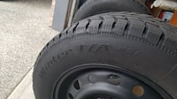 Four (4) BF Goodrich Winter Tires on Rims Maple Ridge, V2W 1B4
