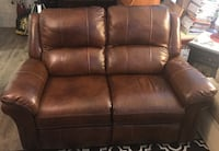 brown leather 2-seat recliner sofa Washington, 20008