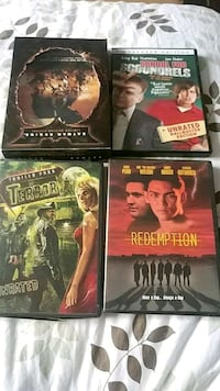 Dvds 2 dollars each all for sale Port McNicoll, L0K 1R0