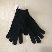 Roots Women's Large Touch Screen Knit Gloves BNWT Toronto