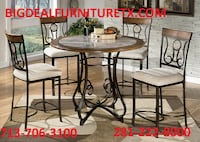 Dinning set $479.99 HOUSTON