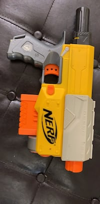 yellow and white plastic toy