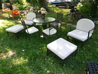 Outdoor furniture suite brown/off white Annapolis, 21409