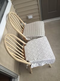 two white and gray armchairs 38 km