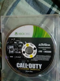 Call of Duty Ghosts Xbox 360 game disc Elkton, 22827