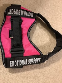 """Pink service dog vest harness """"Emotional support"""" size medium New w/o tags Tuscaloosa, 35404"""
