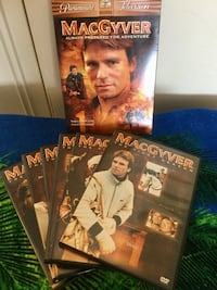 The Complete 1 st Season 6 DVD disc Movies / MacGyver  Ready for Adventure :o) 39 km