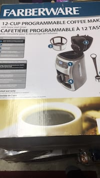 Coffee maker new  Brampton, L6P 1B3