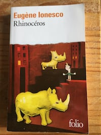 Eugene Lonesco Rhinoceros Folio livre